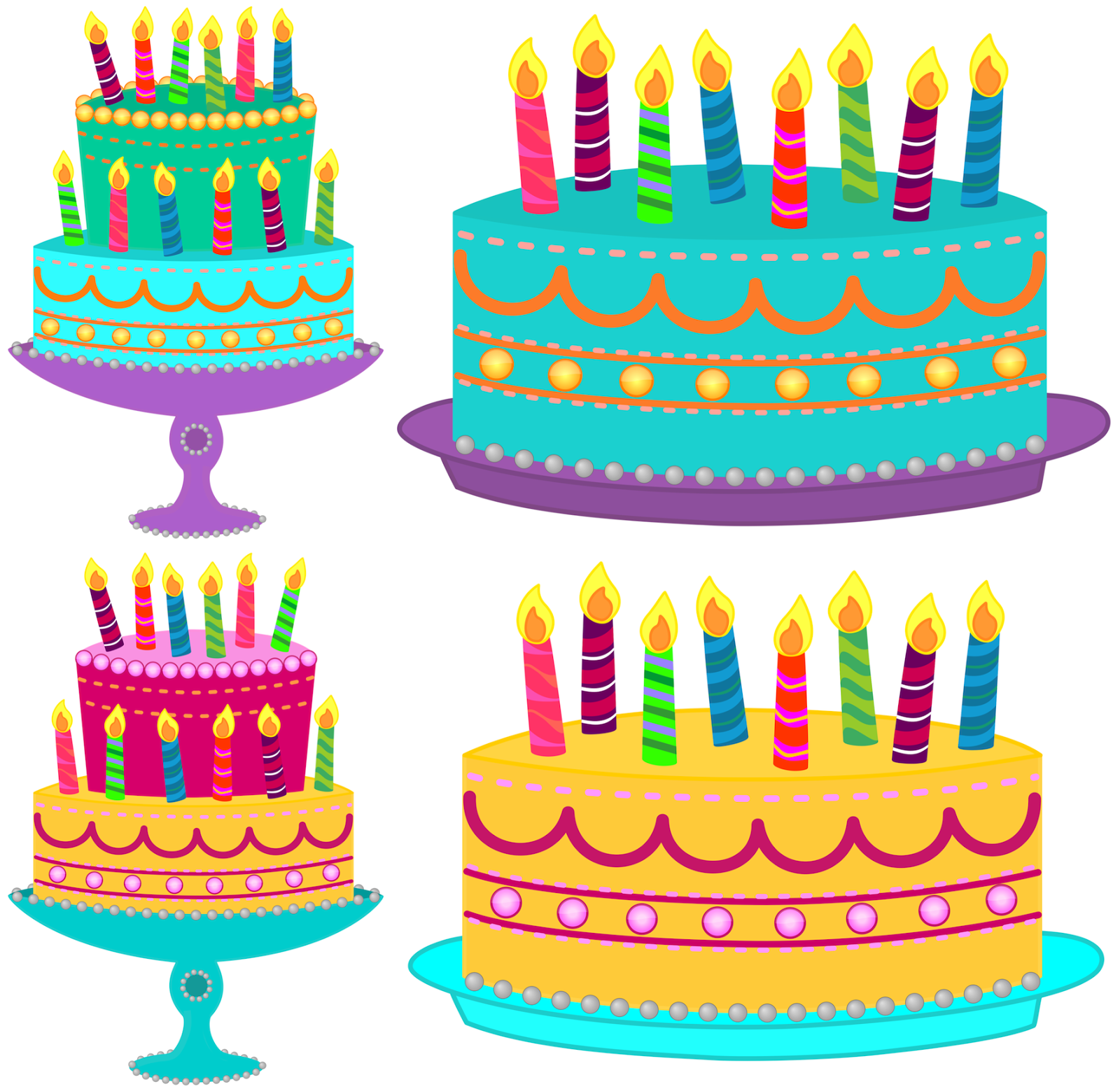 - Birthday Cake Clipart