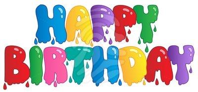 - Happy Birthday Clip Art