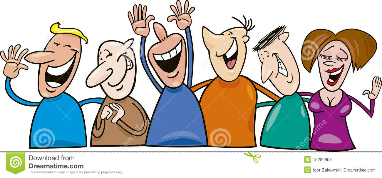 - Happy People Clipart