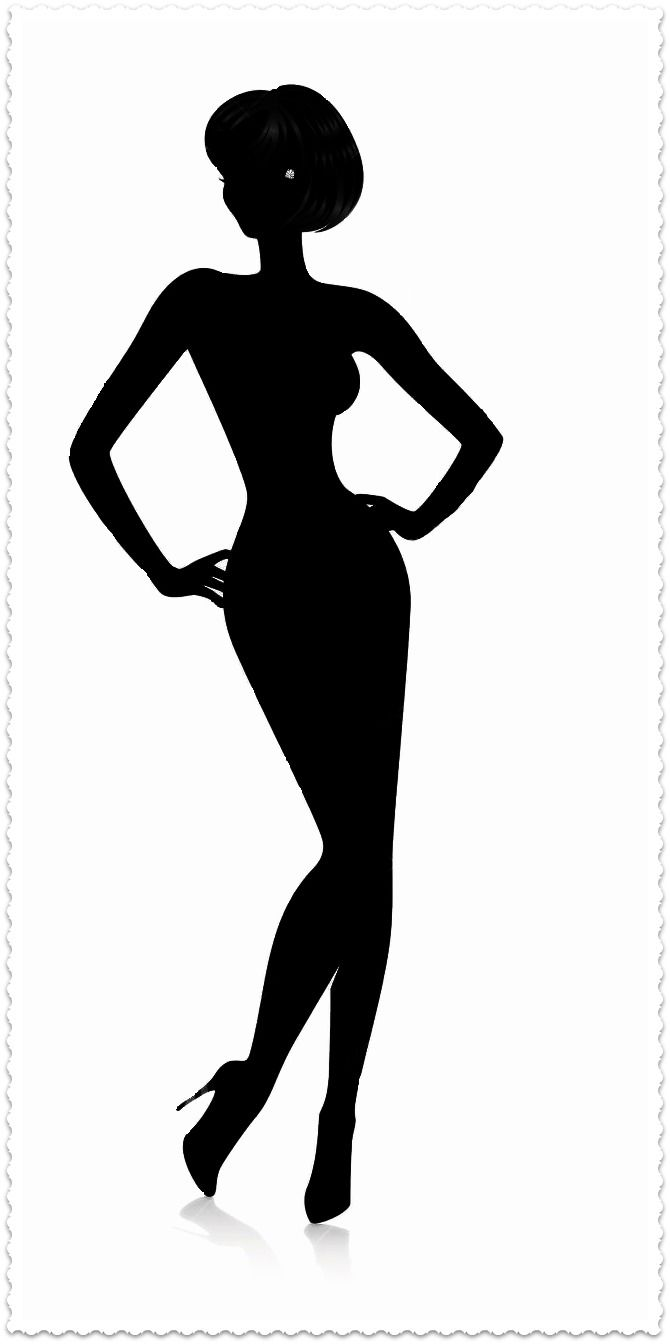 - Woman Silhouette Clipart