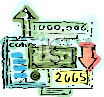 0511 0810 1009 5847 Investing In The Stock Market Clipart Image 1