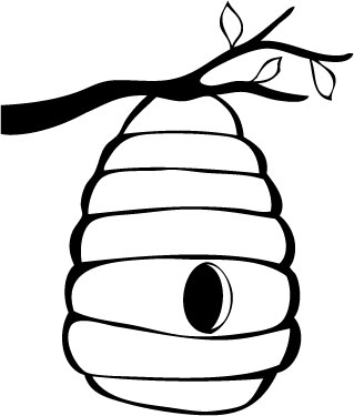 10 Beehive Drawing Free Cliparts That You Can Download To You Computer