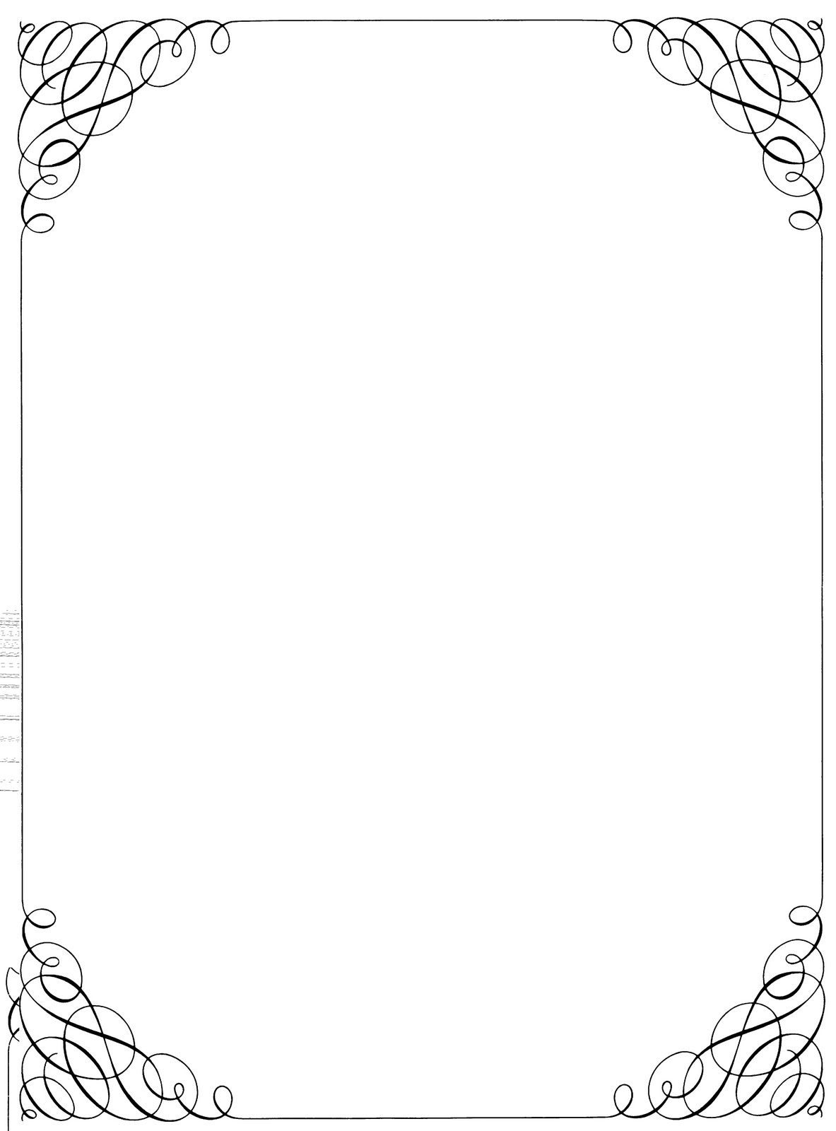 Clip Art Borders And Frames