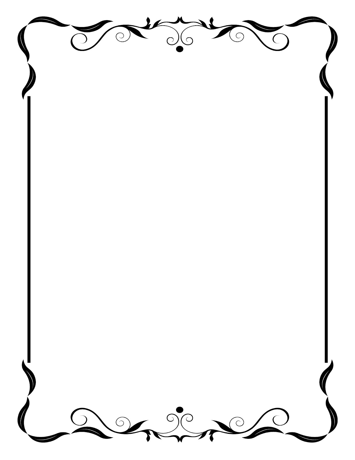 10 Vintage Wedding Border Clipart Free Cliparts That You Can