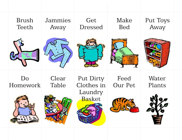 1000  images about clipart on Pinterest | Chore chart kids, Clip art and Graphics