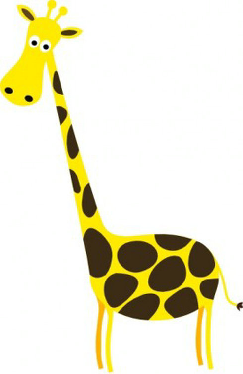 1000  images about Giraffe Clipart on Pinterest | Giraffe art, Nursery art and Clip art