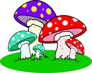 1000  images about mushroom on Pinterest | Clip art, Blue cartoon character and Vector illustrations