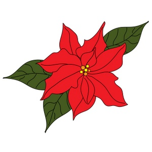 1000  images about Poinsettia on Pinterest | Ceramics, Church and Coloring pages