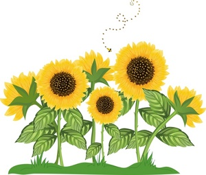 1000  images about Sunflowers on Pinterest | Plants vs zombies, Clip art and Paint brushes