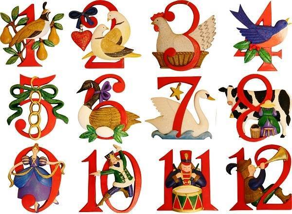 12 Days Of Christmas Clipart # .