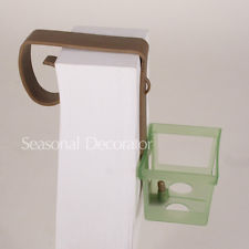 12 Pew Bow Clip With Small Basket For Wedding Floral Bouquets