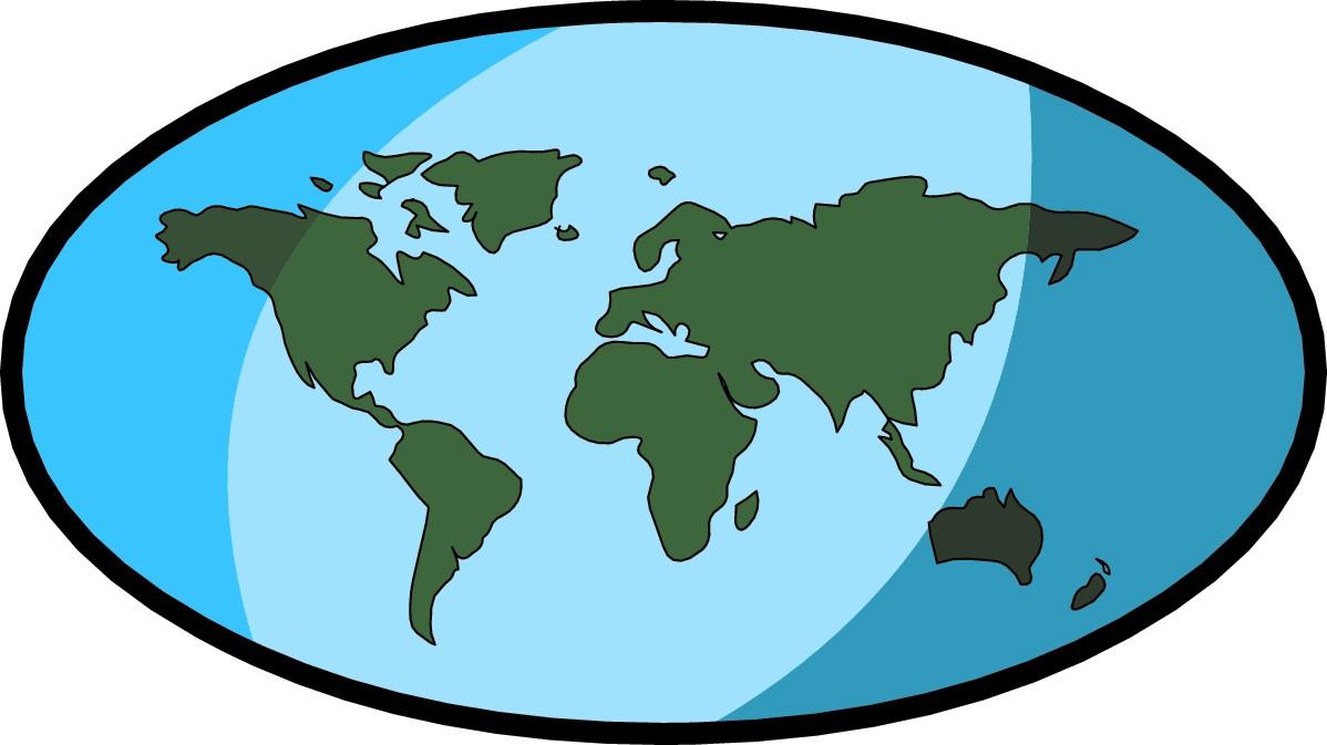 Map World No Labels World Map