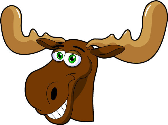 1330620618 A171 05 Cute Cartoon Moose Jpg Images Frompo
