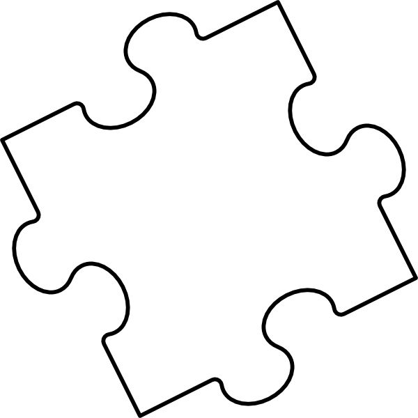 16 Awesome free printable puzzle pieces images