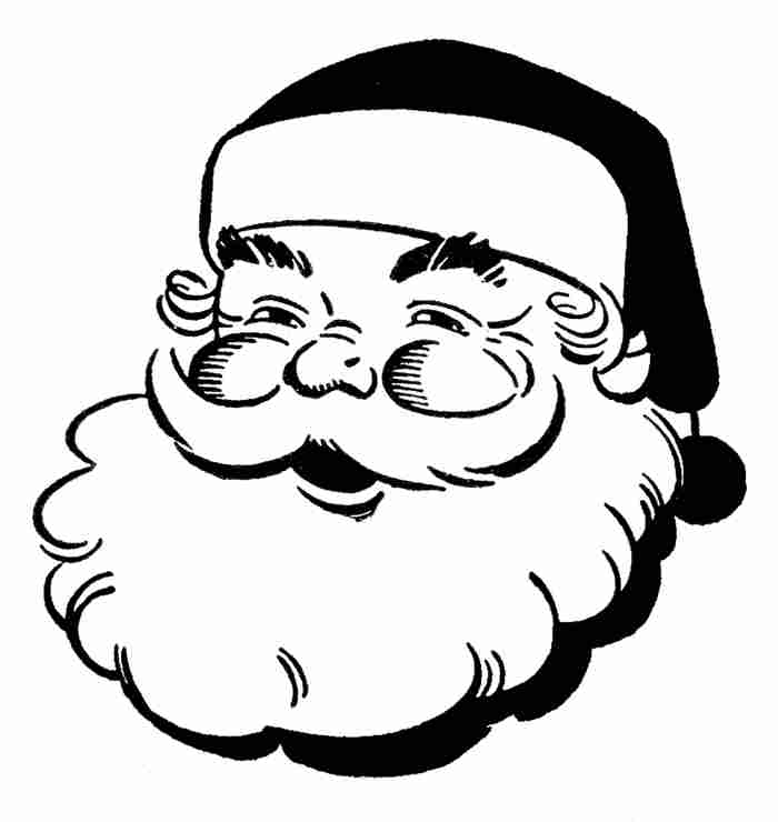 16 Christmas Ornament Clipart Black And White