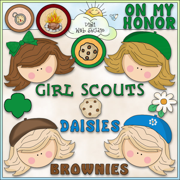 17 Best images about Girl Scouts - Clip Art on Pinterest | Daisy girl, Digital art and Clip art
