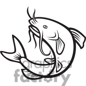 17 Catfish Clip Art Images