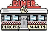 1950s Fifties Diner Clip Art