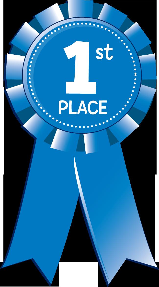 1st Place Blue Ribbon Clipart
