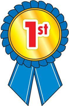 1st Place Blue Ribbon Clipart. Space Clip Art Free Download