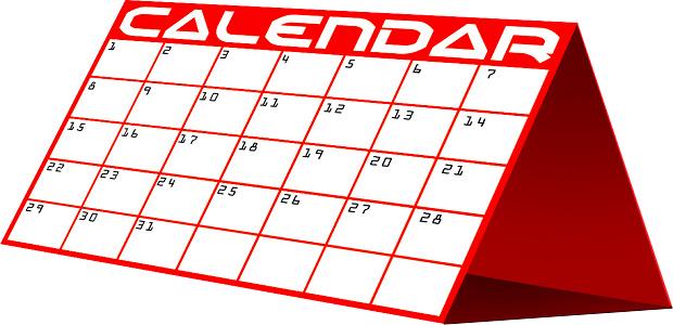 2013 School Calendar Clipart .