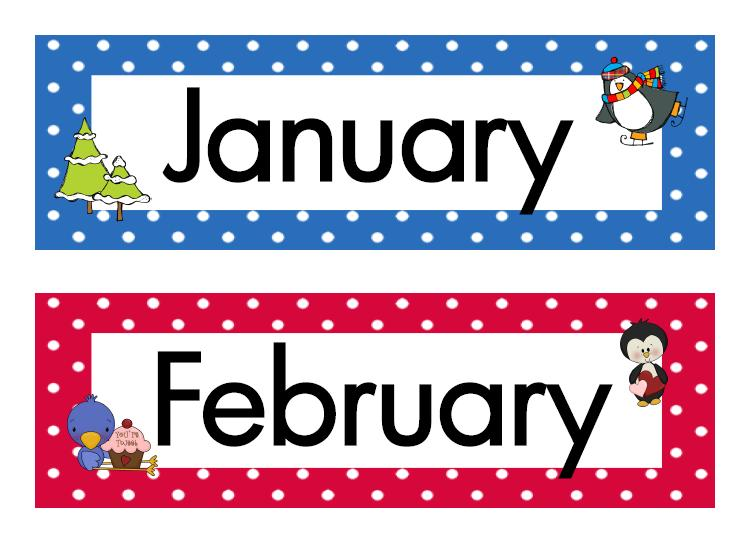 23 Months Of The Year Free Cliparts That You Can Download To You