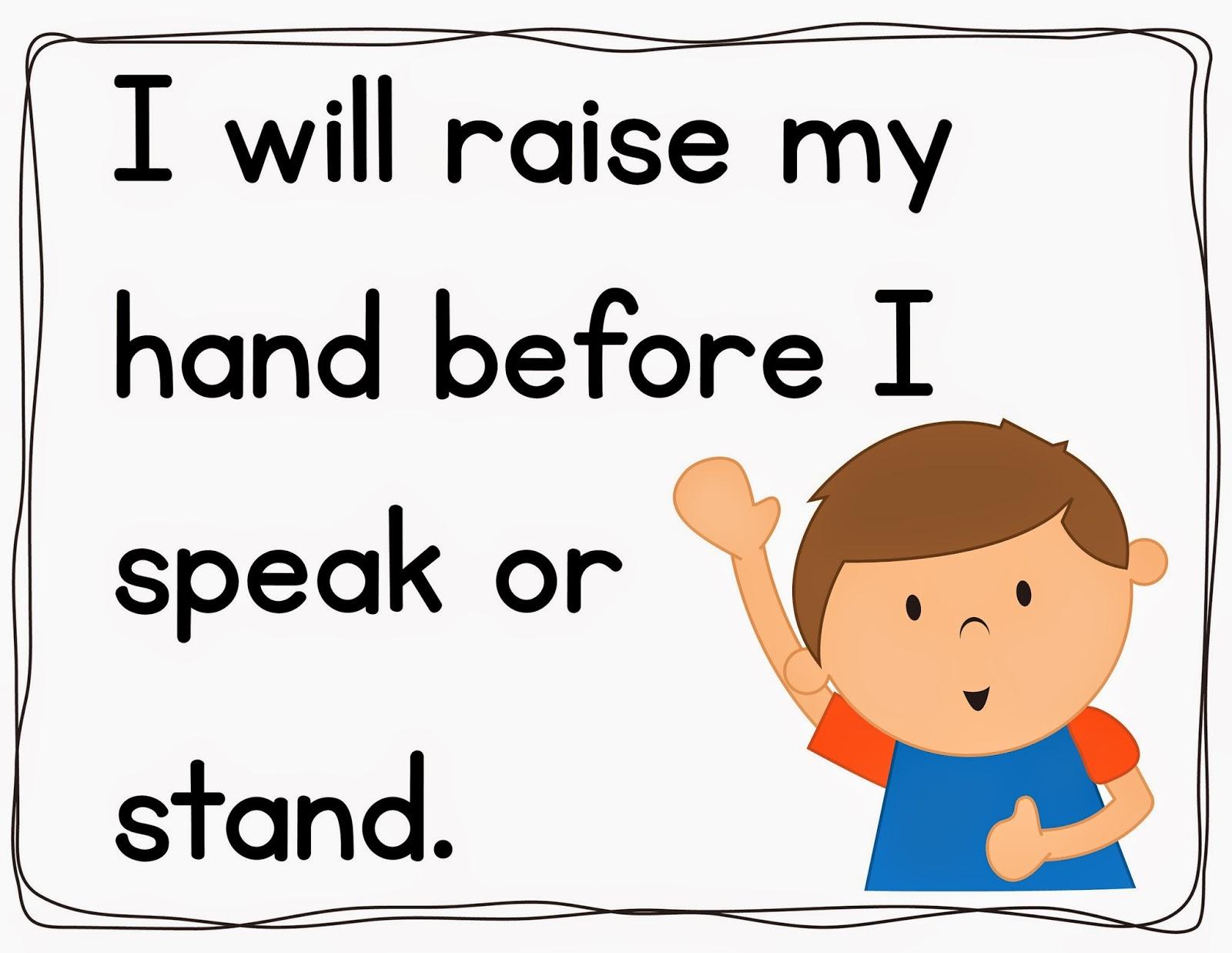 2nd Grade Snickerdoodles: Classroom Rules u0026middot; Classroom Rules Clipart