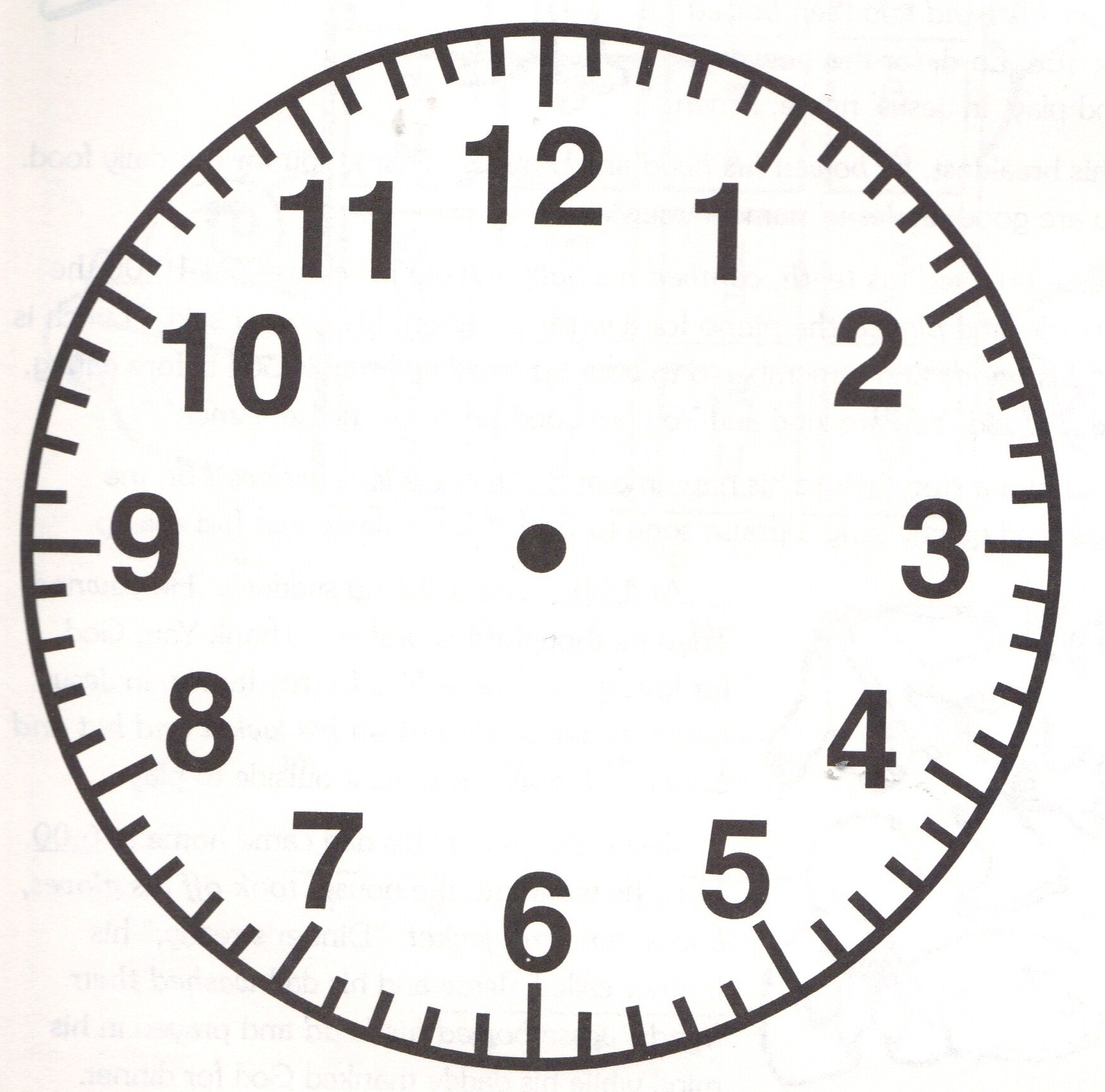 34 Printable Clock Face Without Hands Free Cliparts That You Can