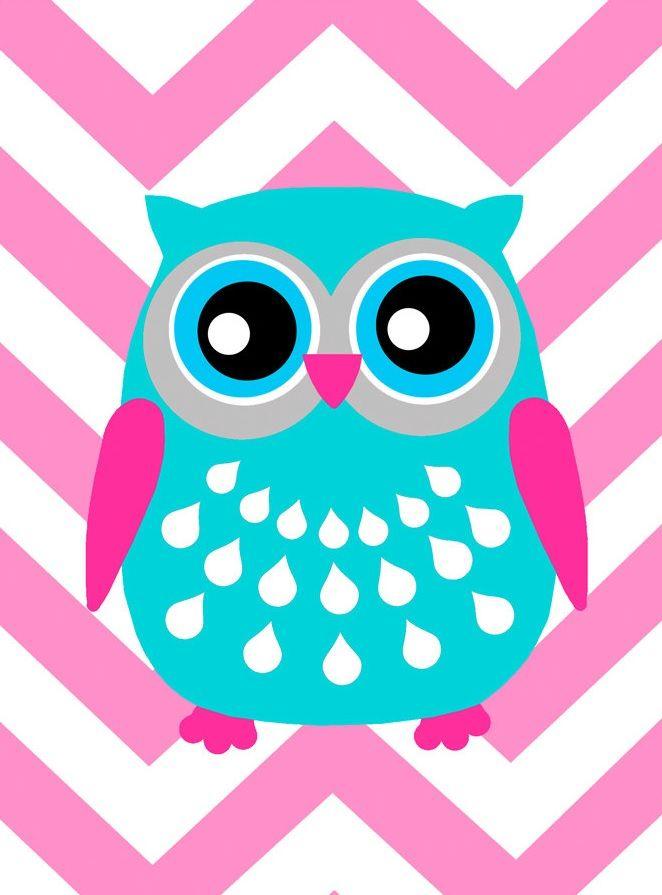 u0026#39;Chevron Owlu0026#39; by Tessyla Prints