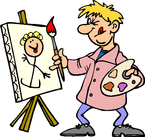 490 × 463. clipart artists