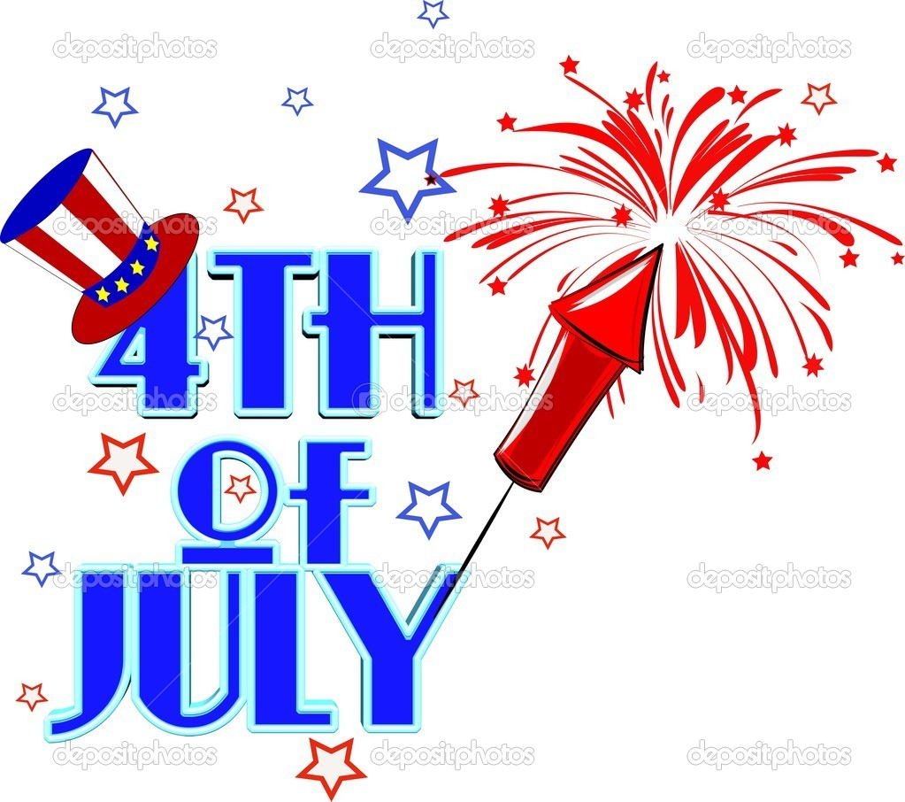 4th Of July Fireworks Clipart 4th Of July Fireworks Graphic Jpg