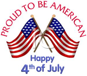 4th Of July Free Clipart
