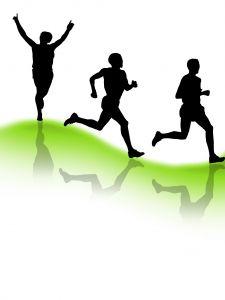5k Runner Clipart