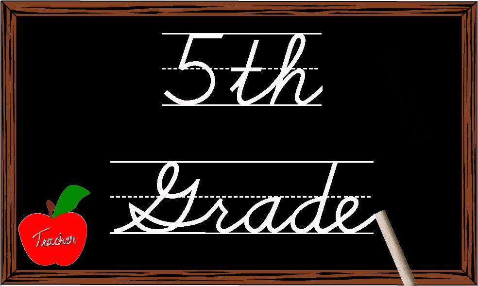 5th Grade Clipart