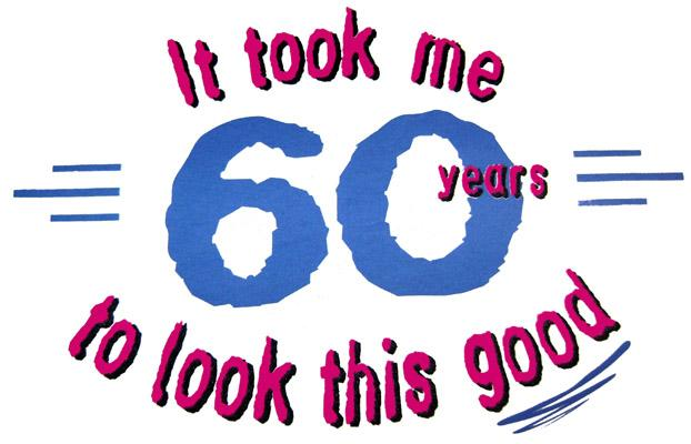 60th Birthday Clipart