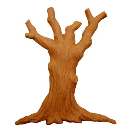 99424 Tree Trunk 3d Model Club Dimensional Art For Cnc Users