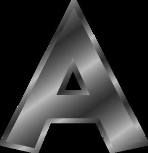 A alphabet letter - vector Clip Art ...