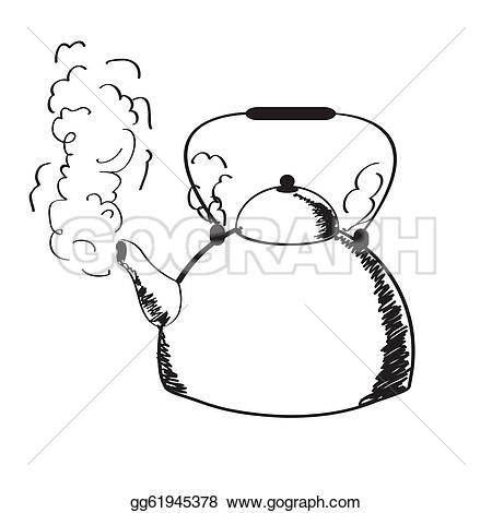 ... a boiling kettle and steam.
