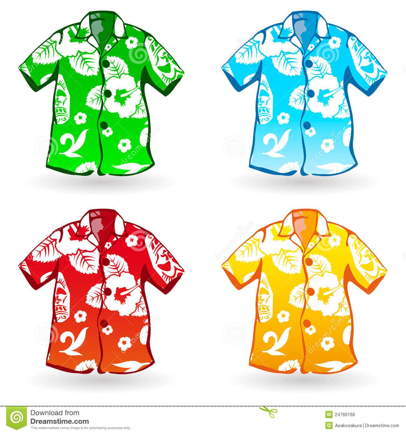 A Four Of Aloha Shirts Can .