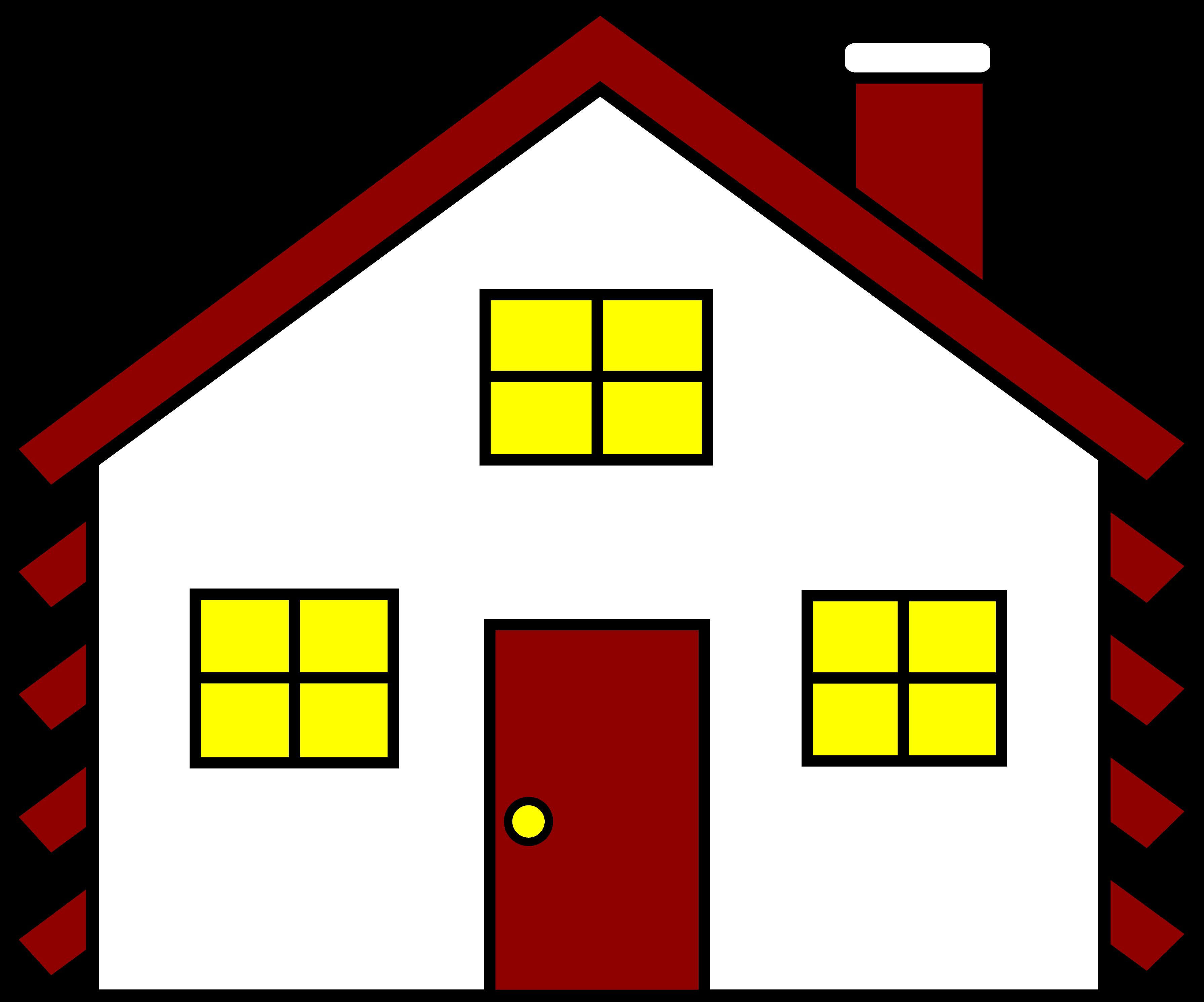 A House Clipart | Houses | Home Image Area