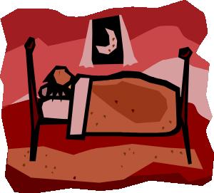 A Person Sleeping Clip Art