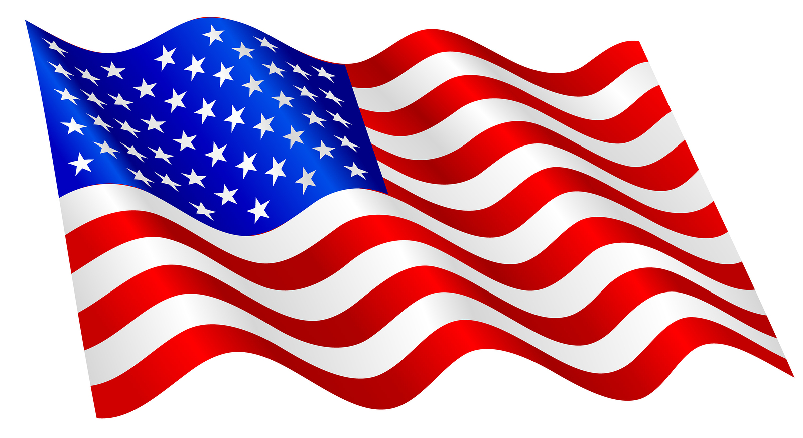A Pic Of The American Flag .