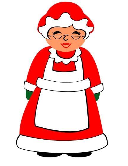 Mrs Claus Clipart