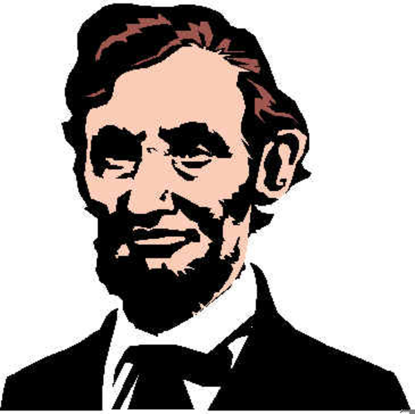 Abe Lincoln Clipart this image as: