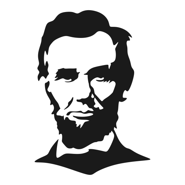 Image result for abraham lincoln cut file
