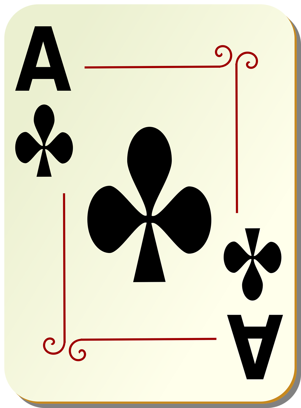 Cards clipart aces #5