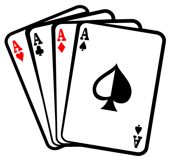 Aces Poker Playing Cards Vector Free Download Free Vector Art