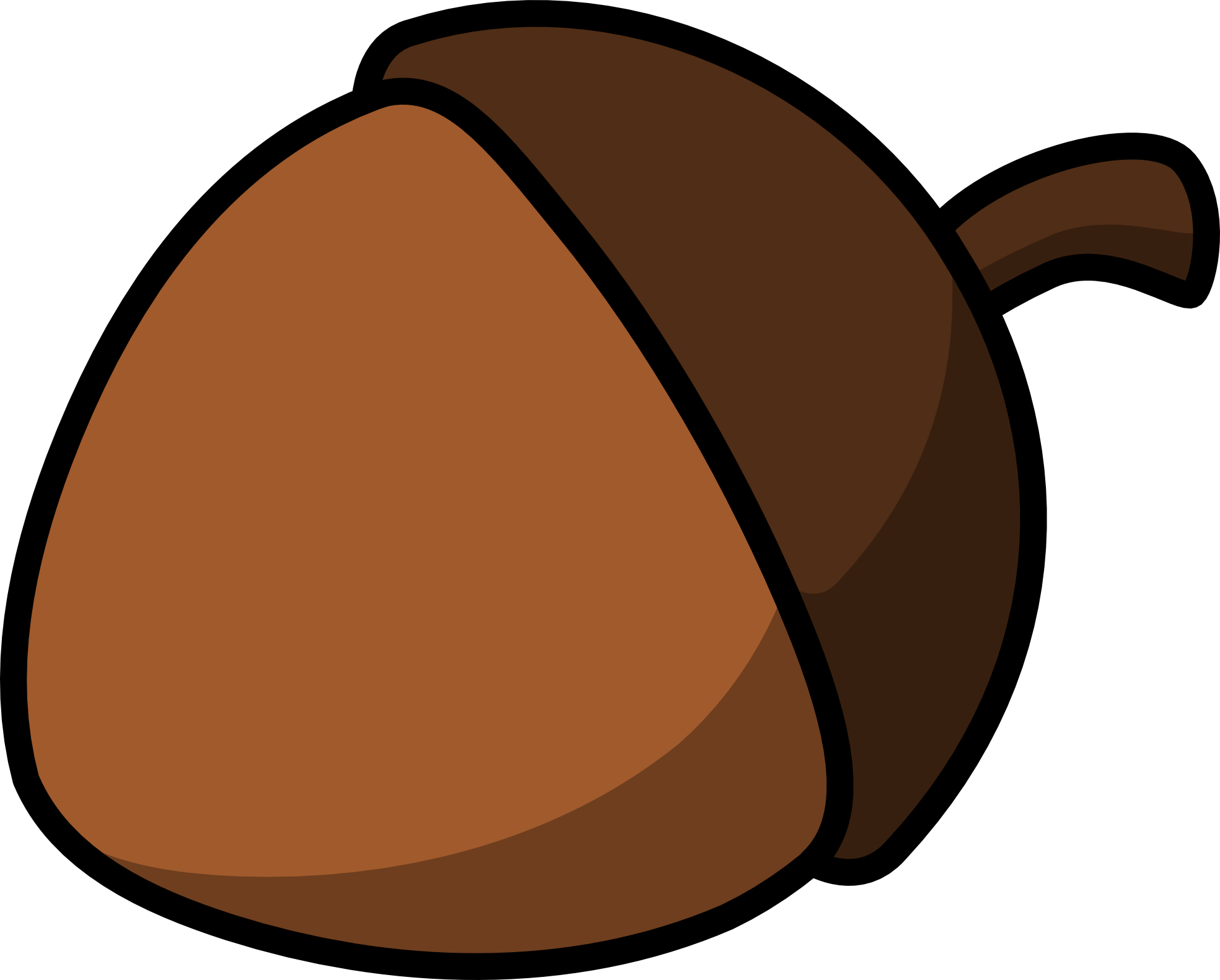 Acorn Clipart Black And White Clipart Panda Free Clipart Images