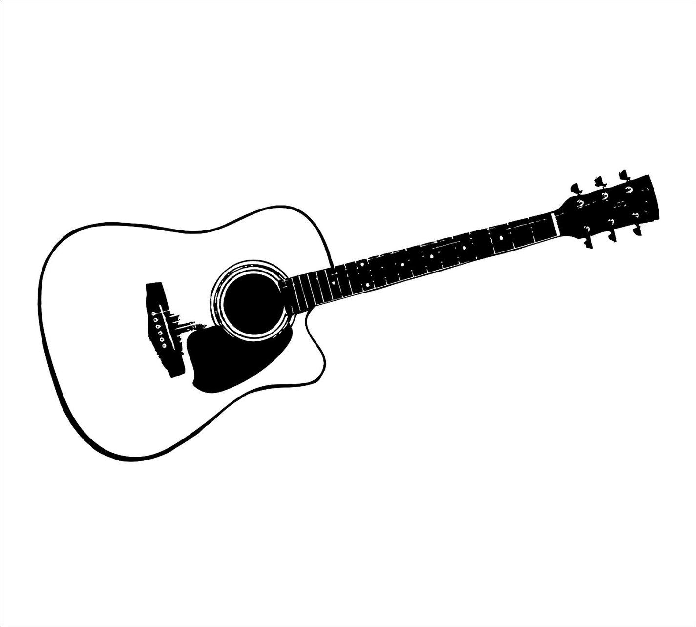 Acoustic Guitar Clip Art ..
