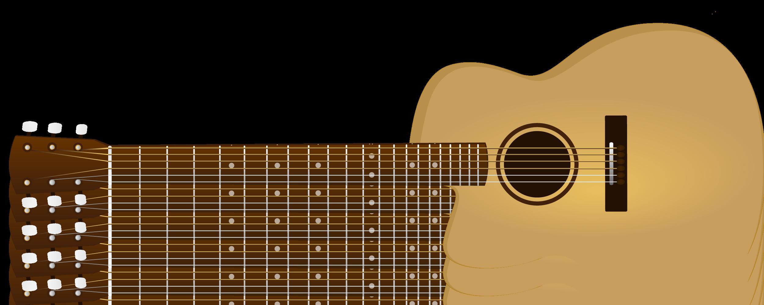 ... Acoustic guitar clipart 6 ...
